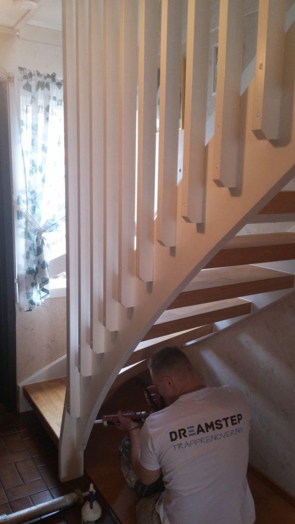 Målning trappa